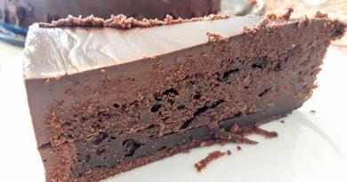 Receta de la tarta Mud Cake de Chocolate